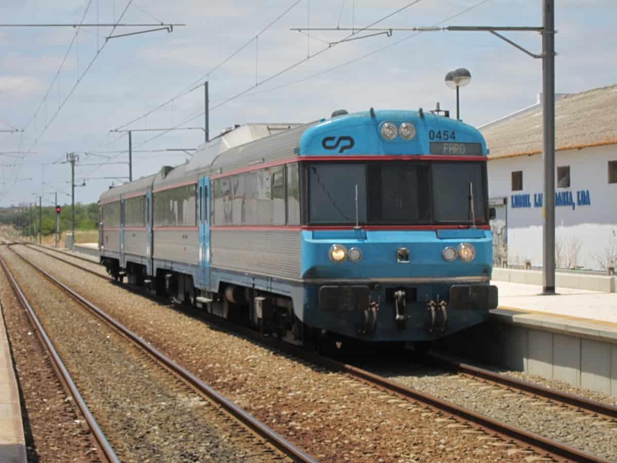 pociąg do Lagos