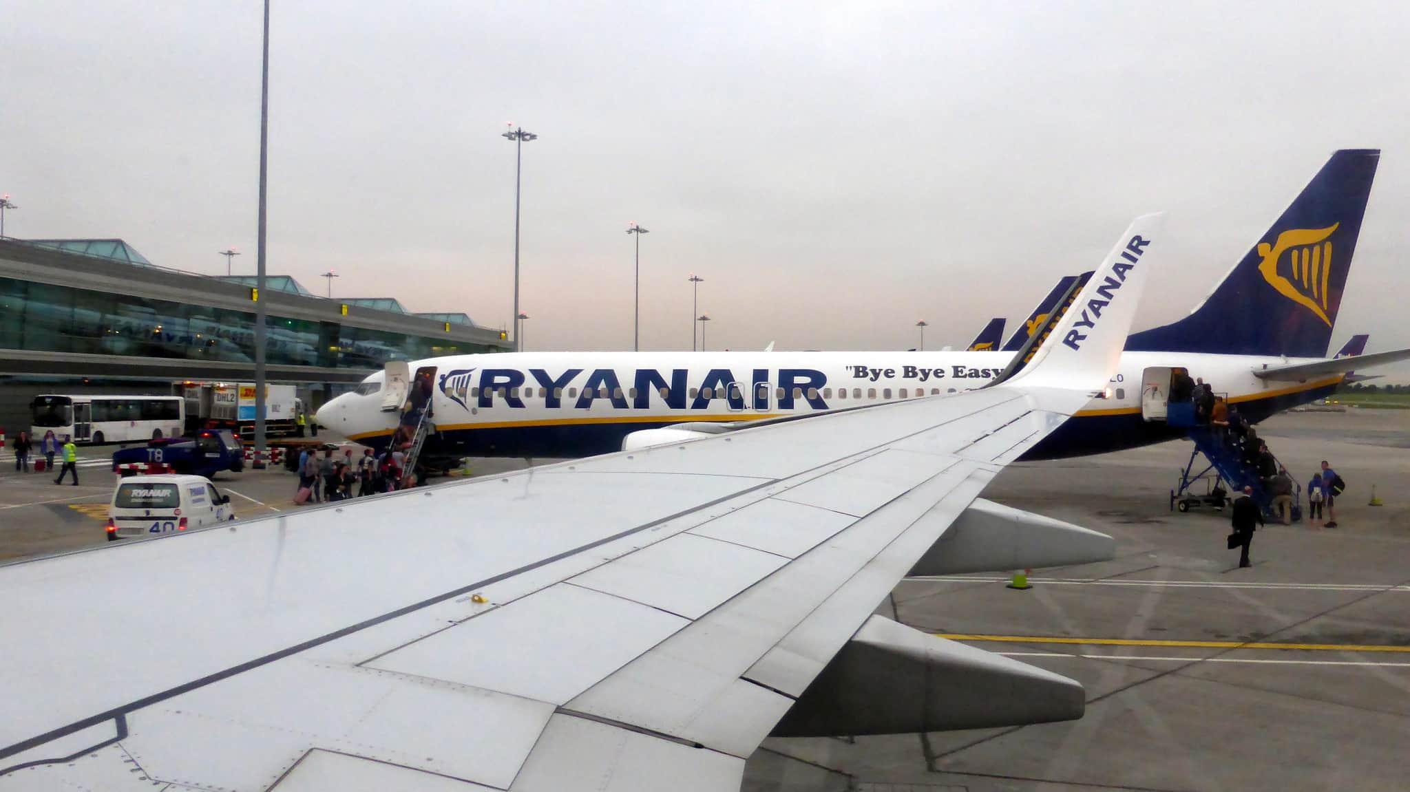 Największy strajk w historii Ryanair - ponad 250 połączeń odwołanych