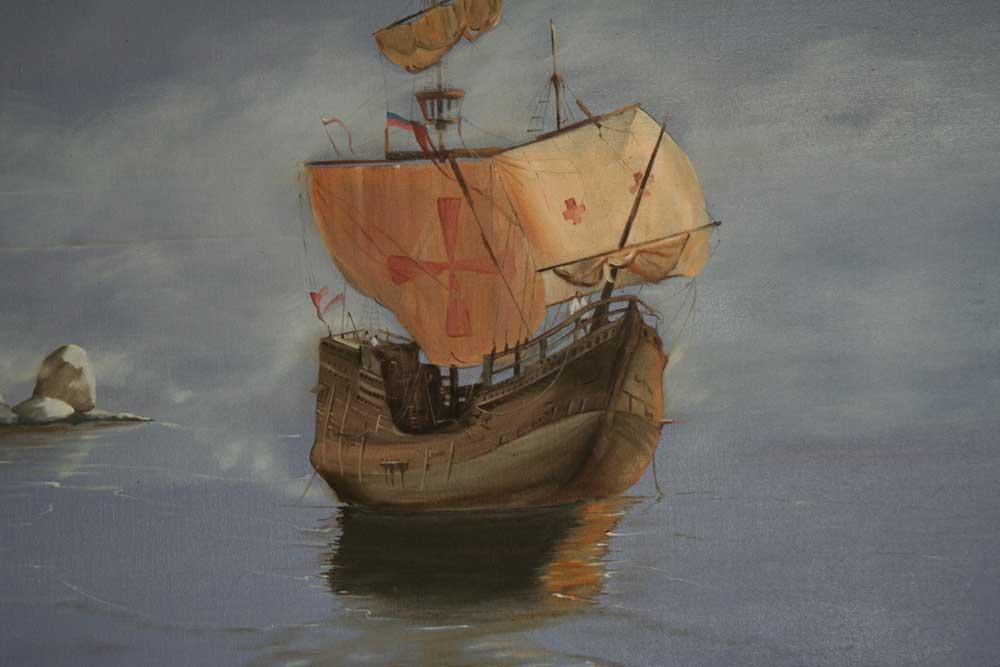 Statek Vasco da Gamy