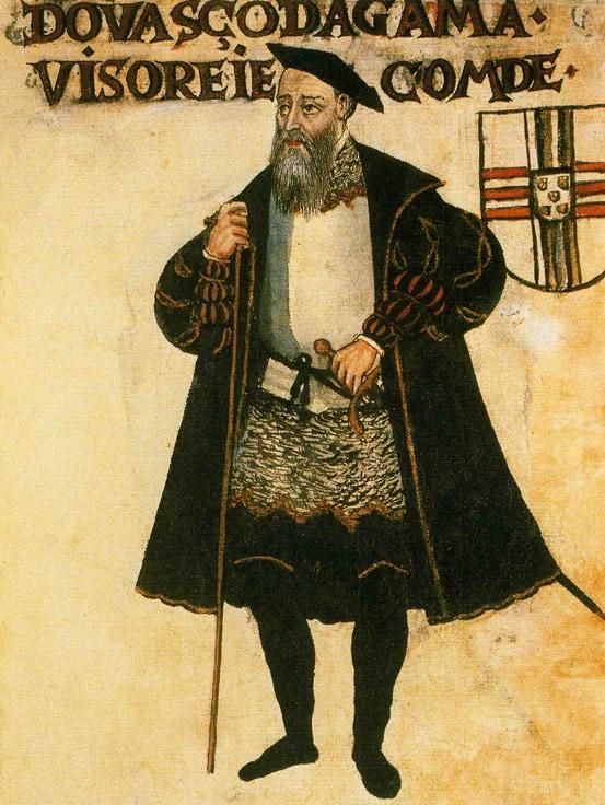 Vasco da Gama jako gubernator Indii