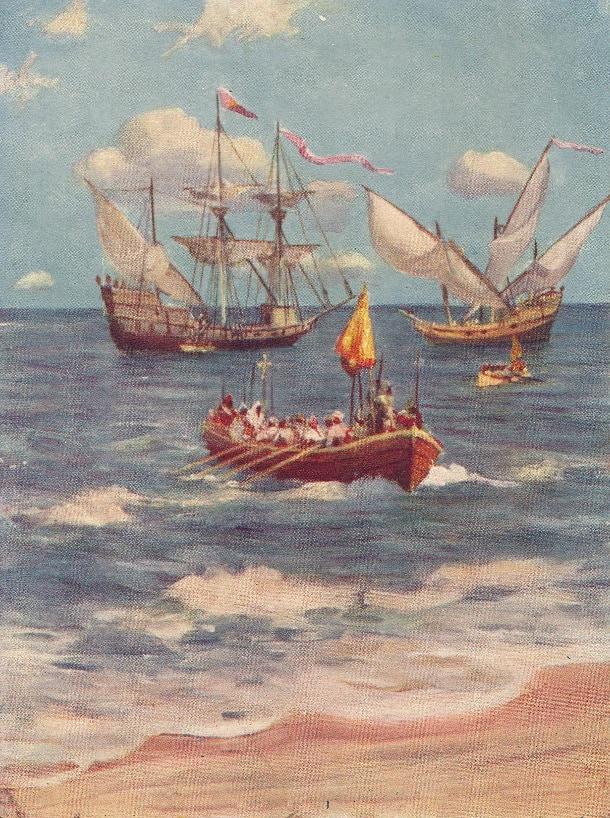Vasco da Gama przypływa do Indii