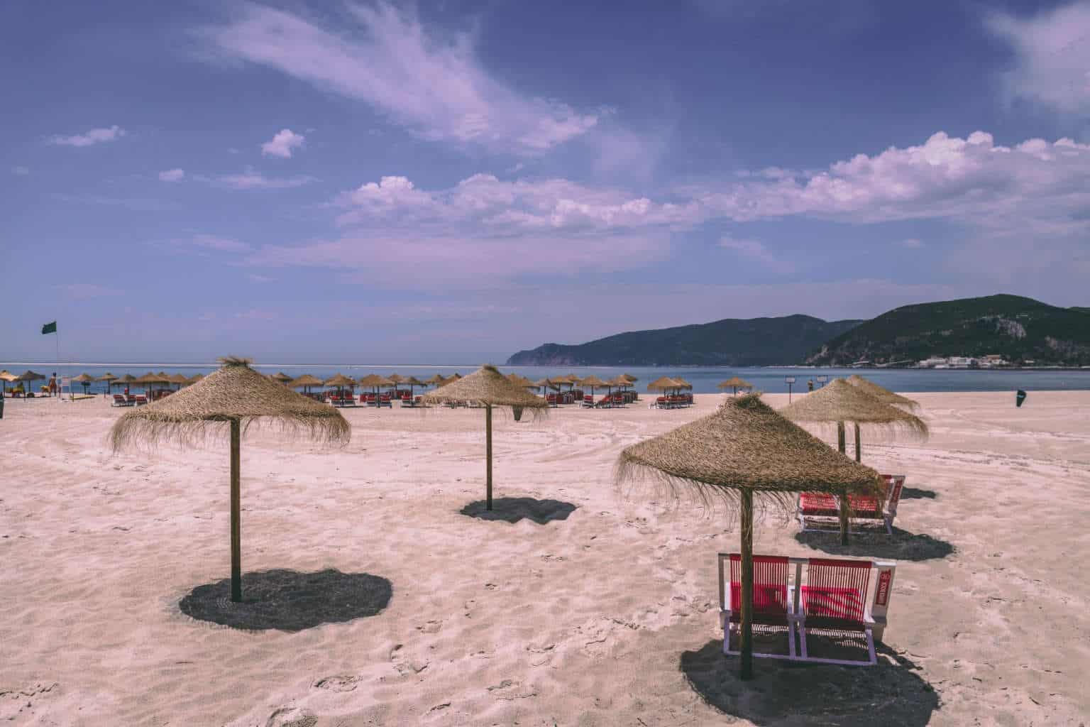 Półwysep Troia - najlepsze plażowanie w pobliżu Lizbony