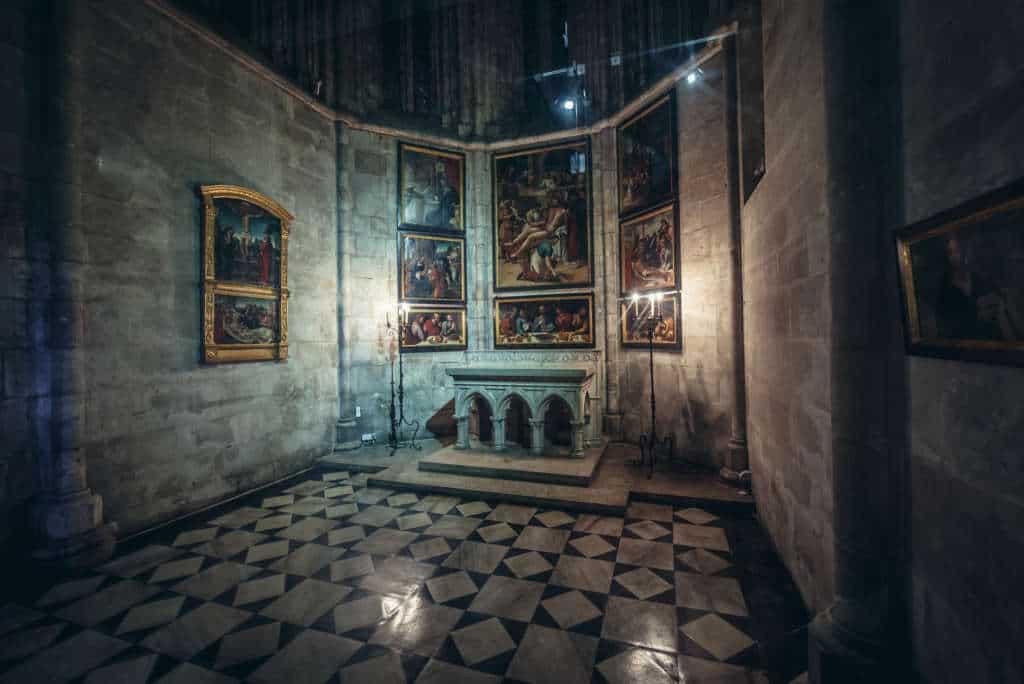 katedra Se wnętrze
