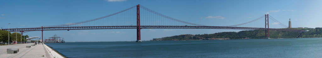 panorama mostu 25 kwietnia