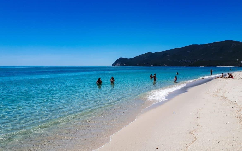 plaża Troia