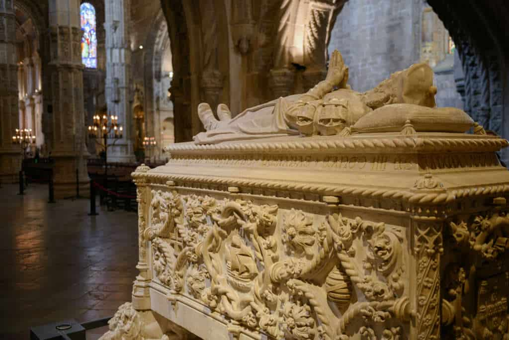 Sarkofag Vasco da Gamy w klasztorze Hieronimitów