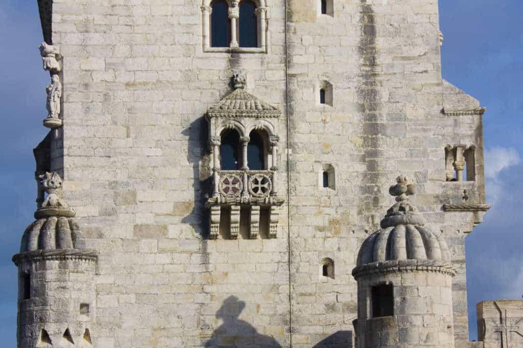 okna wieży Belem