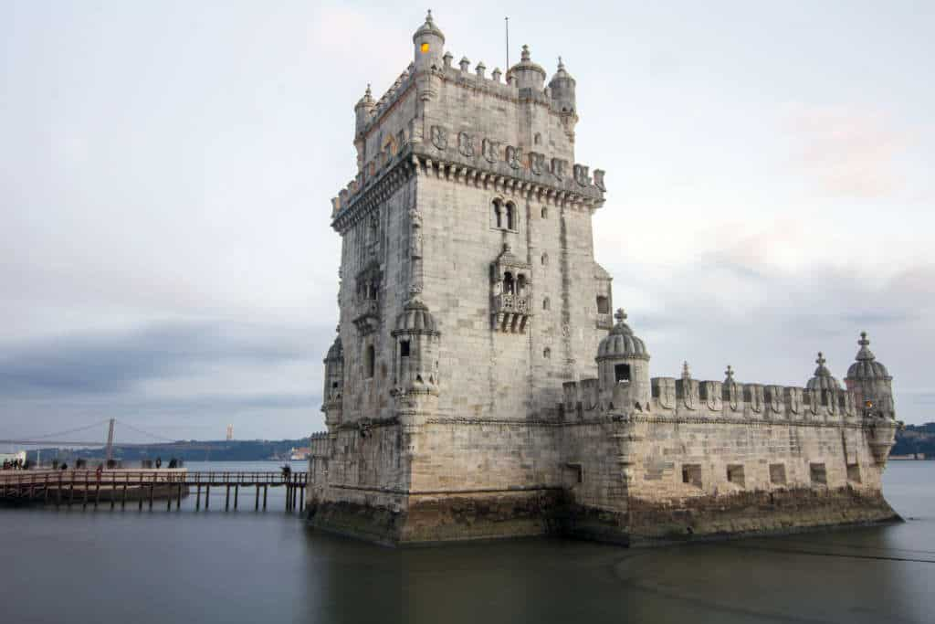 wieża belem - front