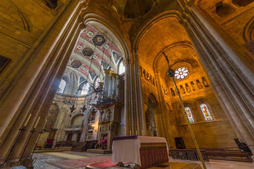 wnętrze katedry Se