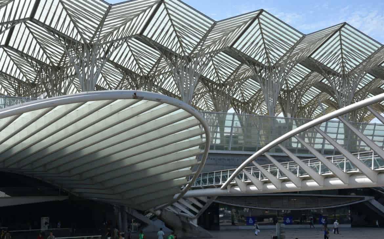 Dworzec Oriente w Lizbonie