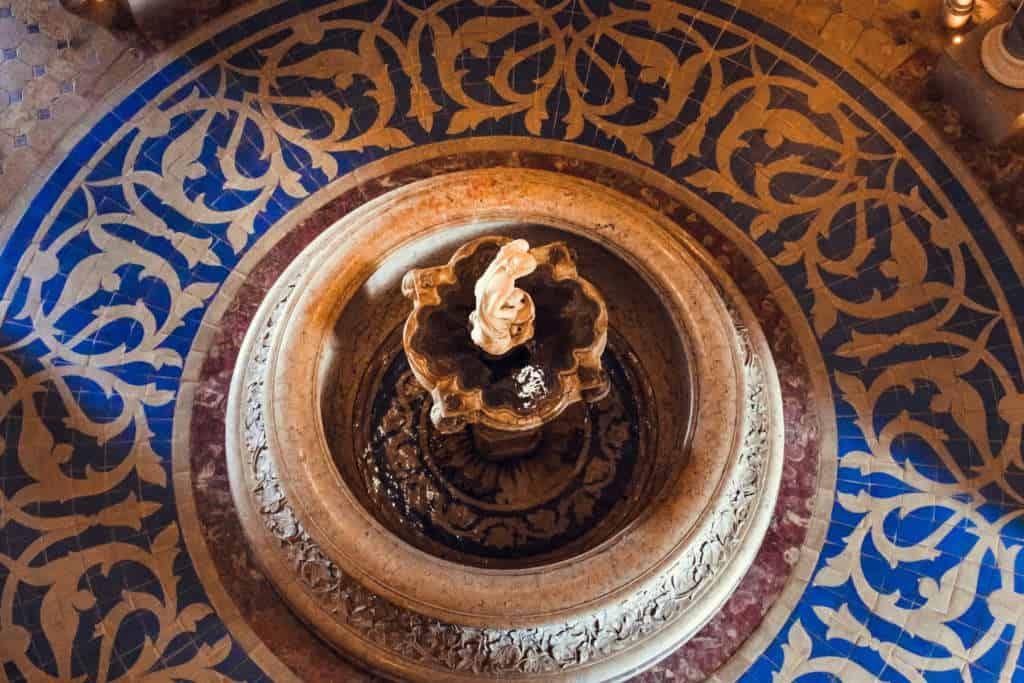 pałac monserrate fontanna