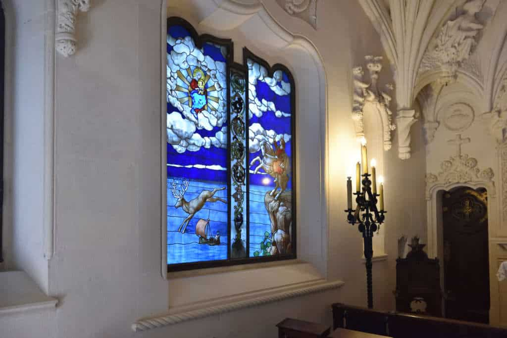 kaplica w Quinta da Regaleira