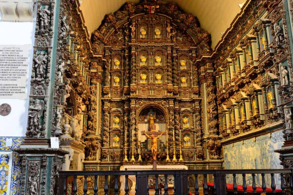 katedra Se w Faro oltarz