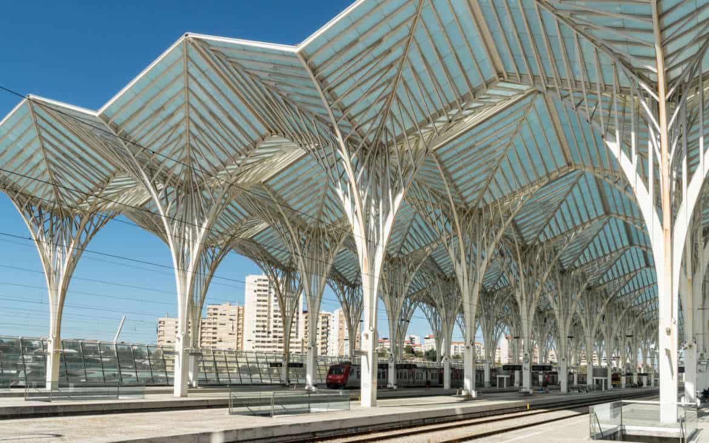 dworzec oriente Lizbona