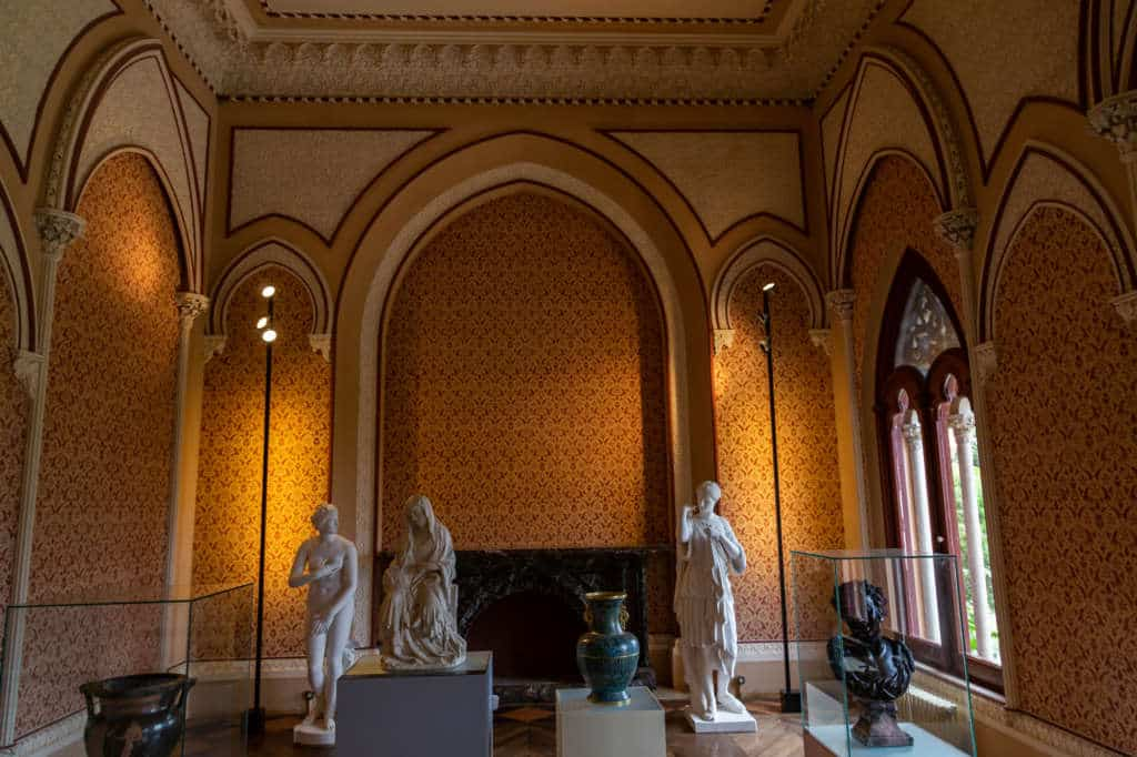 pałac monserrate pokój