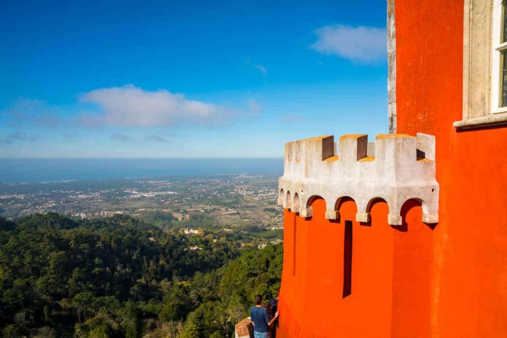 wieża pałacu Pena w Sintrze