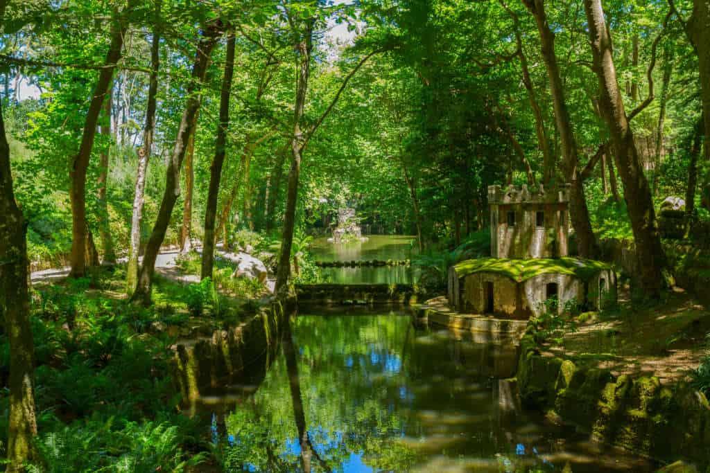 park Pena fontanna