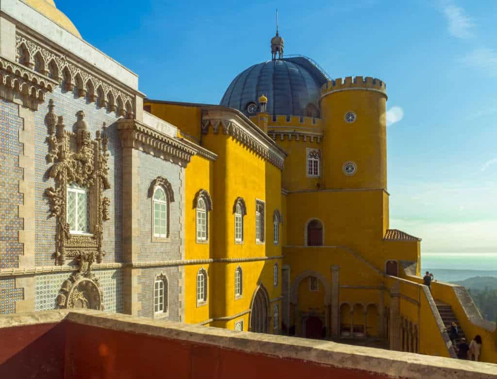 detale pałacu Pena
