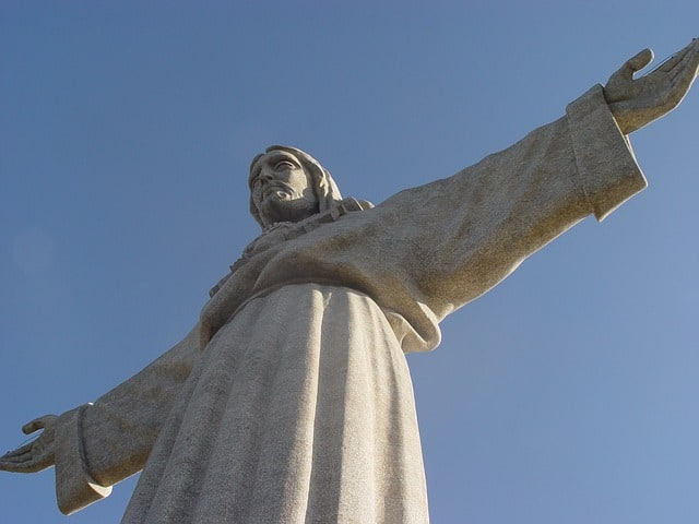 Cristo Rei - pomnik Chrystusa Króla w Lizbonie