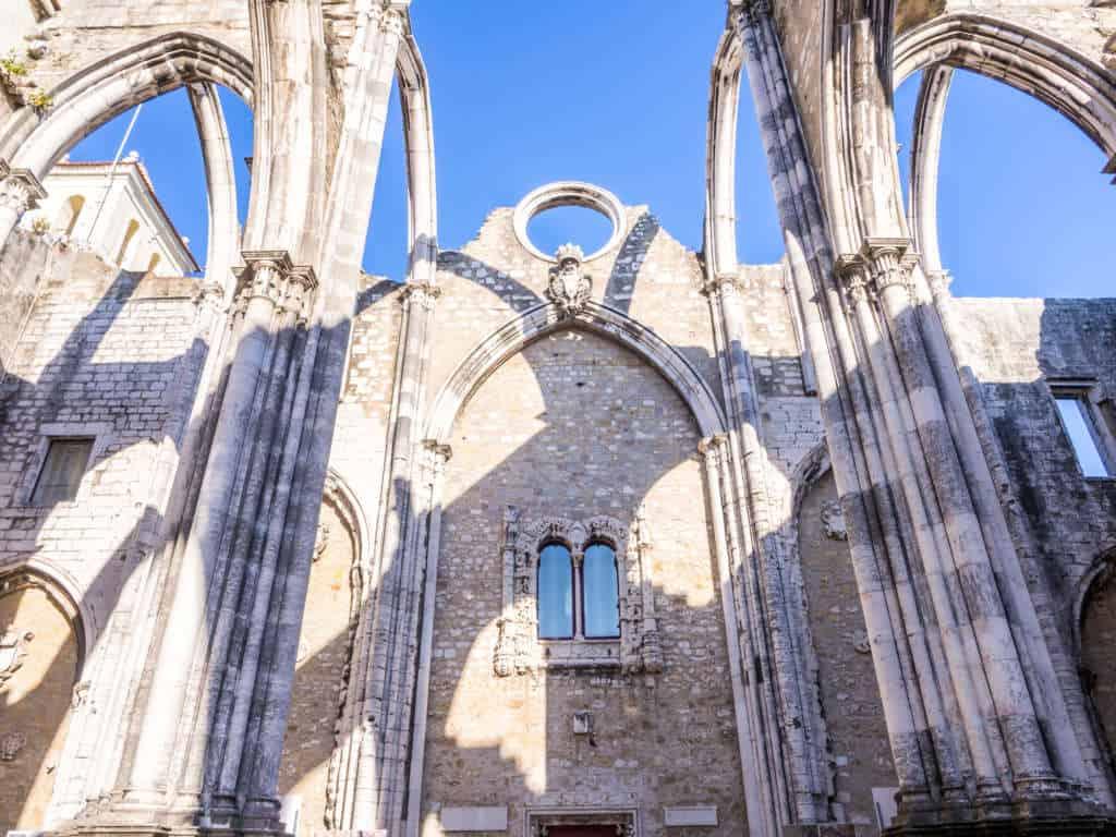 klasztor karmelitów widok na dach