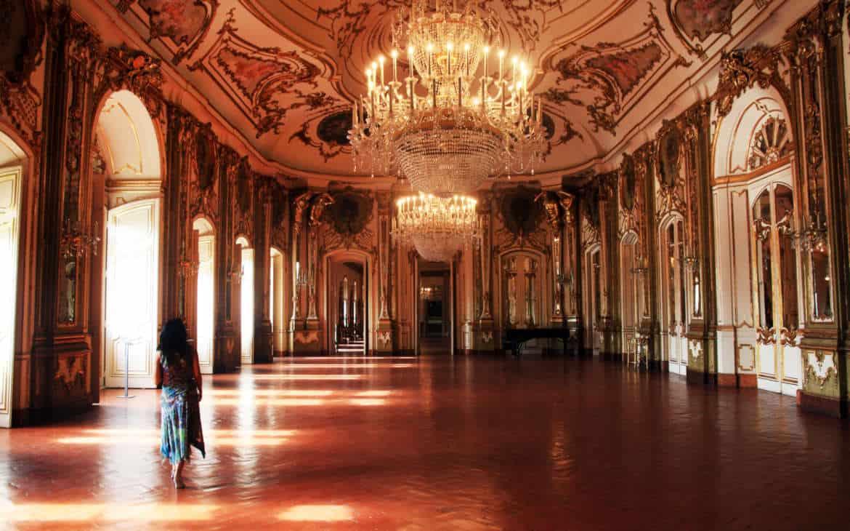sala balowa Queluz