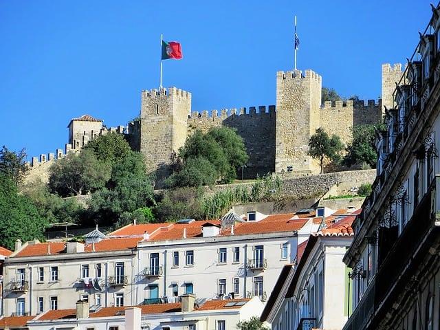 Zamek św. Jerzego w Lizbonie