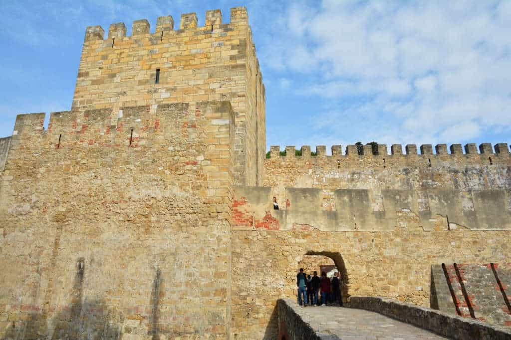 wejście główne do zamku św. Jerzego