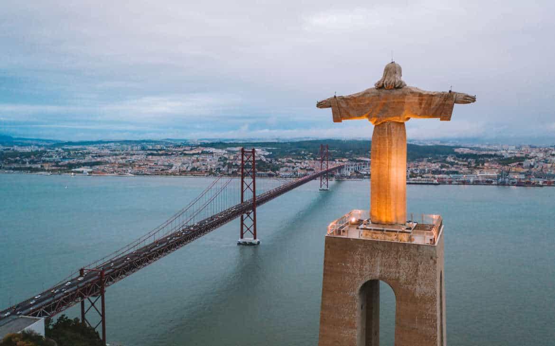 pomnik chrystusa Lizbona