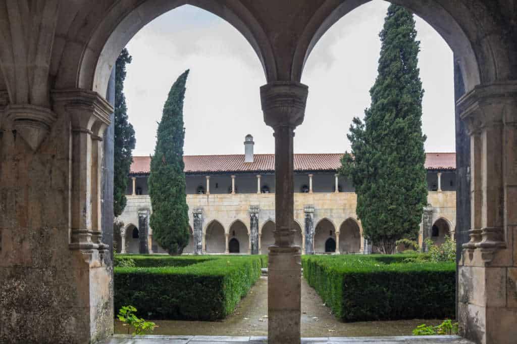 Krużganek Alfonso V w klasztorze Batalha