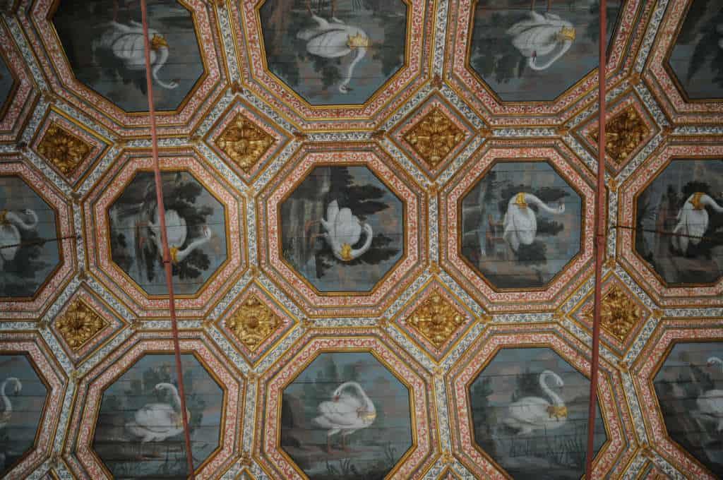 Łabędzi hol w Pałacu Narodowym w Sintrze