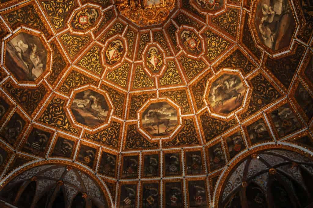 Pokój Syren w Pałacu Narodowym w Sintrze