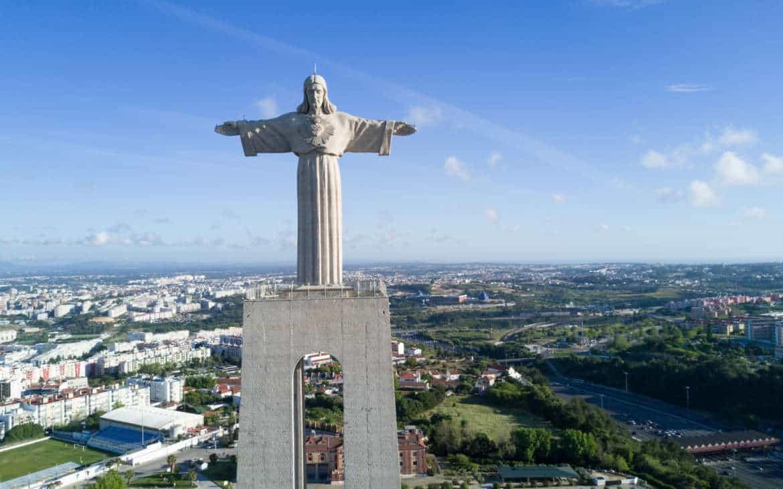 pomnik Jezusa Lizbona