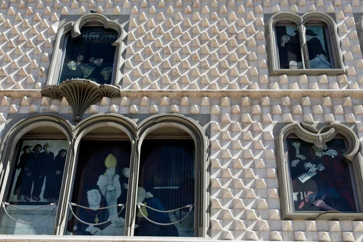 casa dos Bicos w Lizbonie