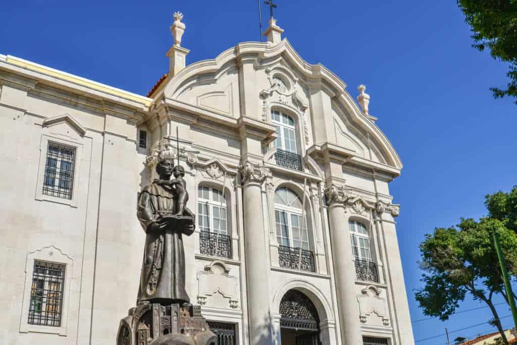 kościół Antoniego Lizbona
