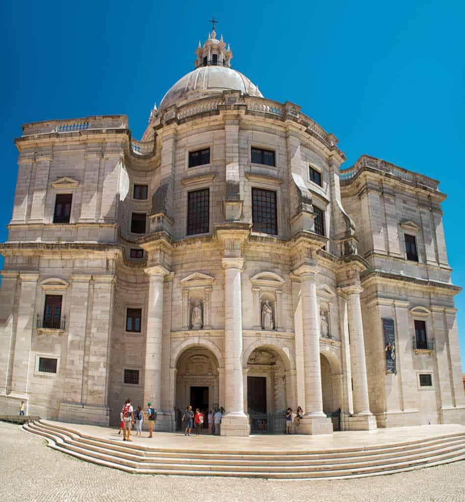 kościół Santa Engracia w Lizbonie