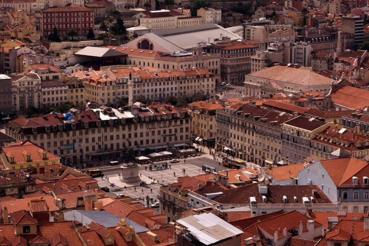 plac Figueira z drona