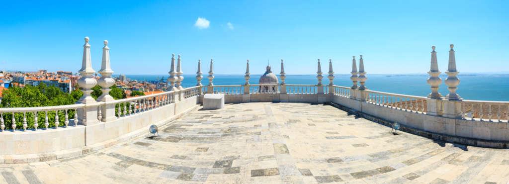 punkt widokowy kościół Sao Vincente