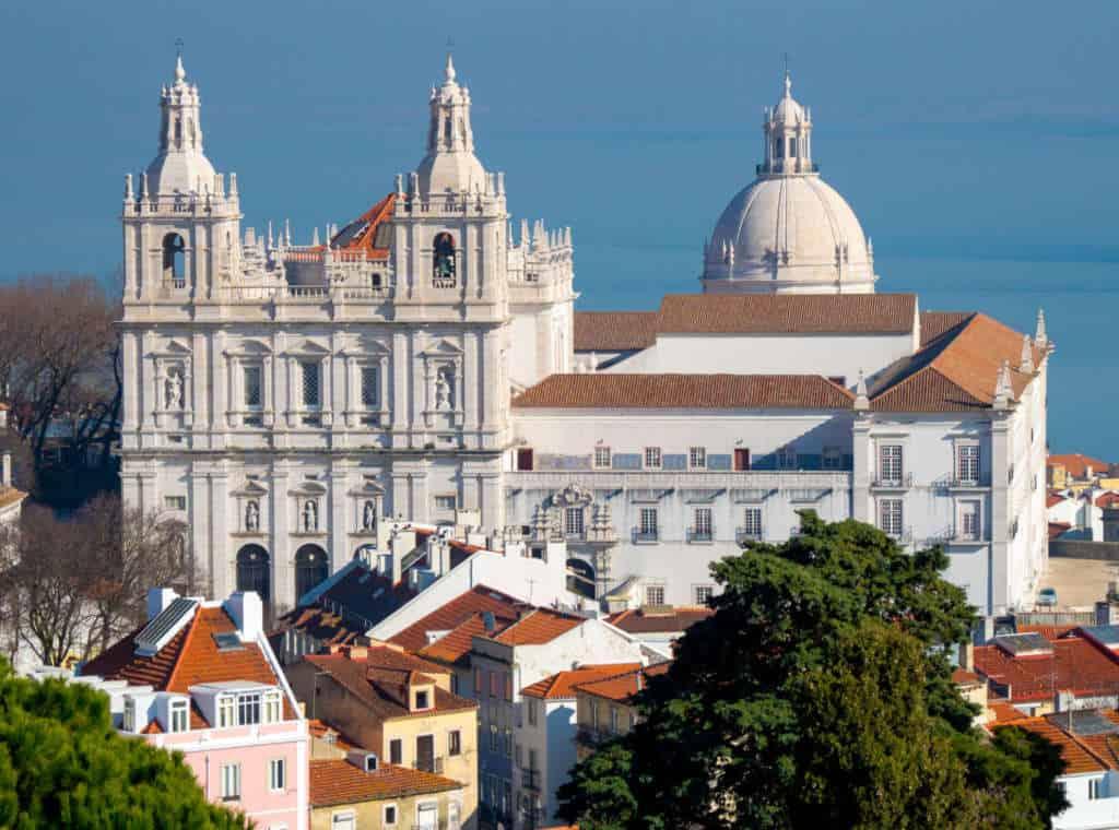 kościół Sao Vincente da Fora
