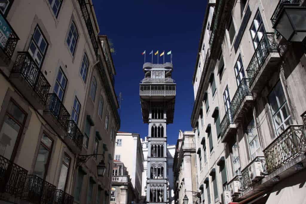 Winda Santa Justa w Lizbonie – doPortugalii.pl