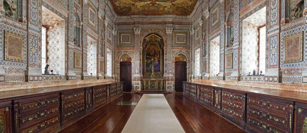 barokowa zakrystia w Sao Vincente da Fora
