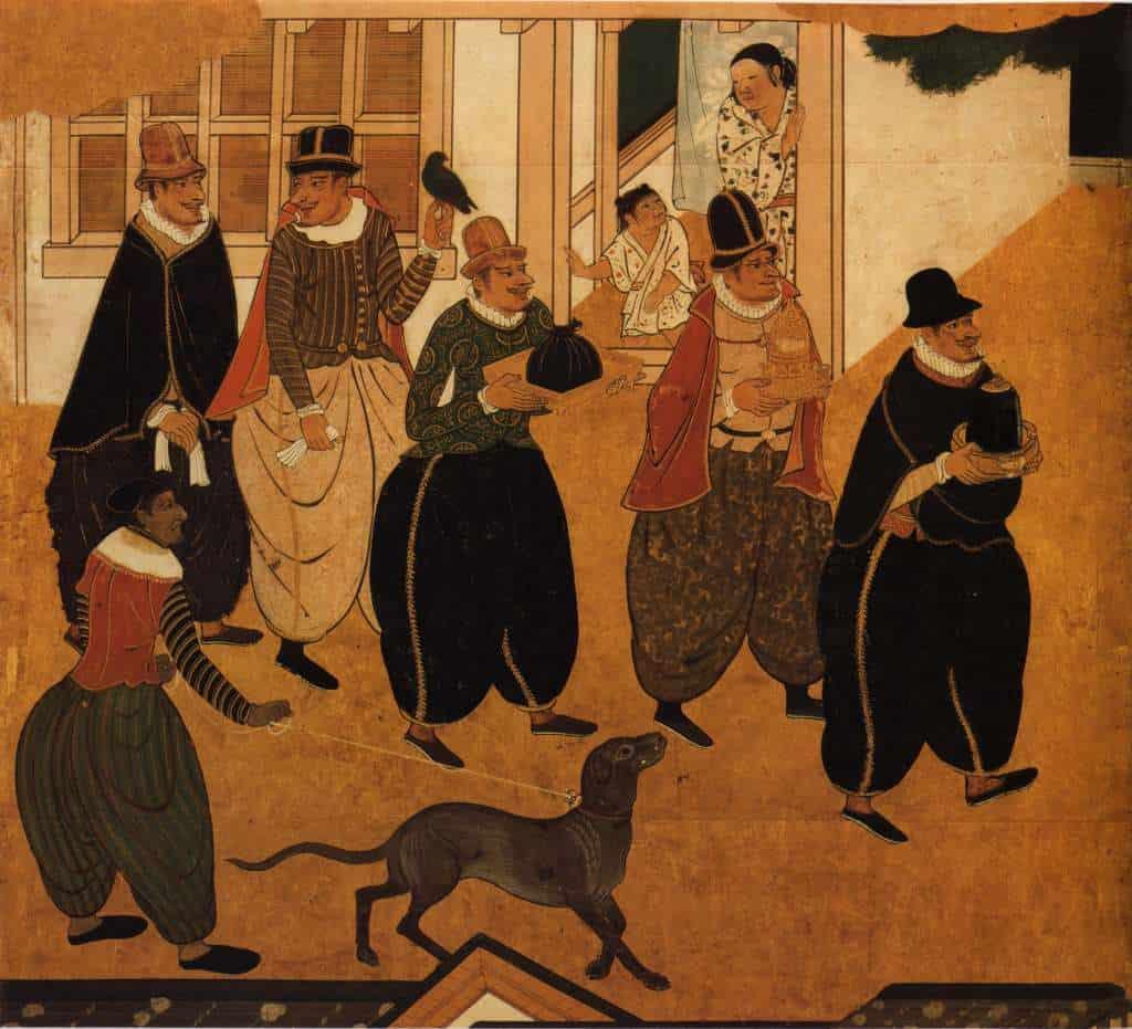 sztuka namban w muzeum sztuki antycznej