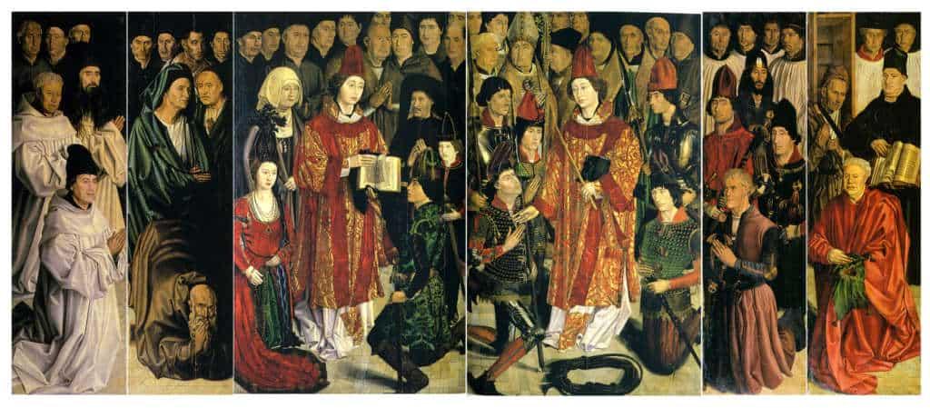 obraz adoracja św. Wincentego