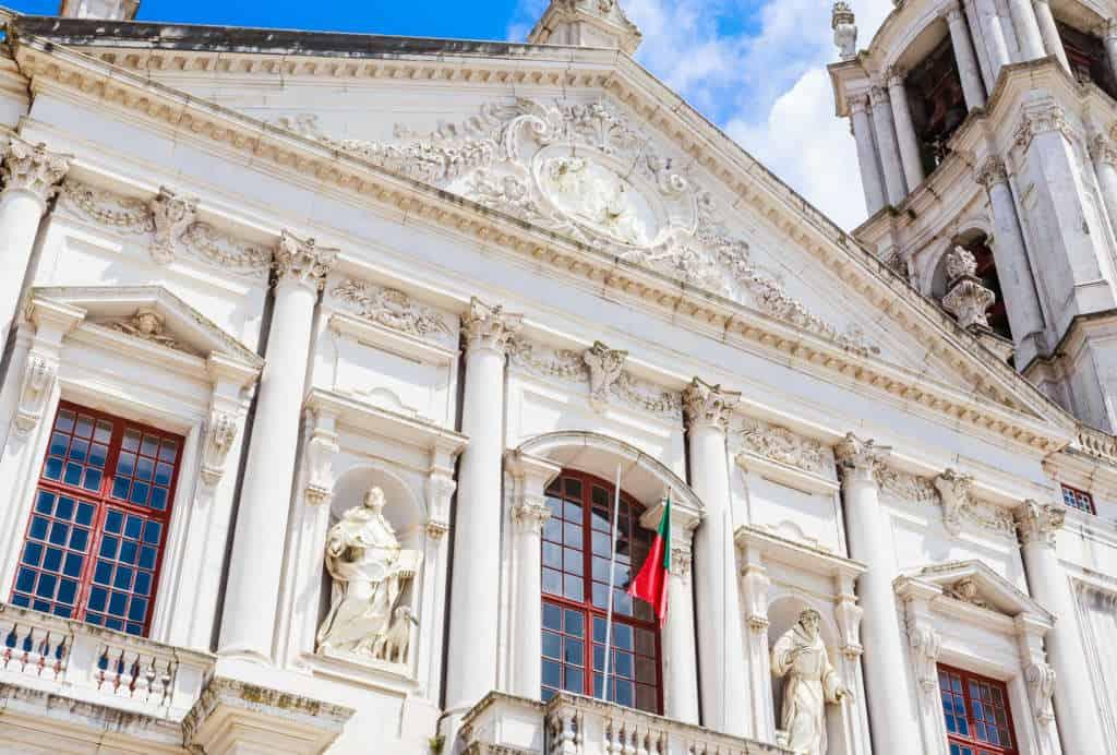 Mafra okno papieskie