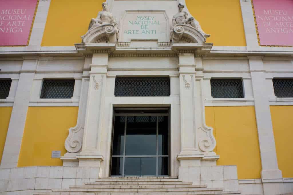 muzeum sztuki antycznej główne wejście