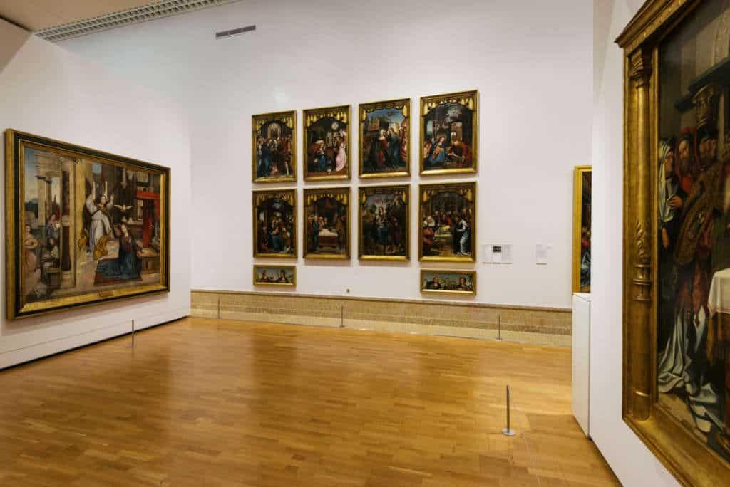 muzeum sztuki antycznej w Lizbonie kolekcja obrazów