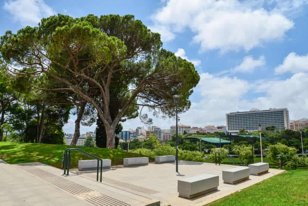 park Edwarda VII w Lizbonie