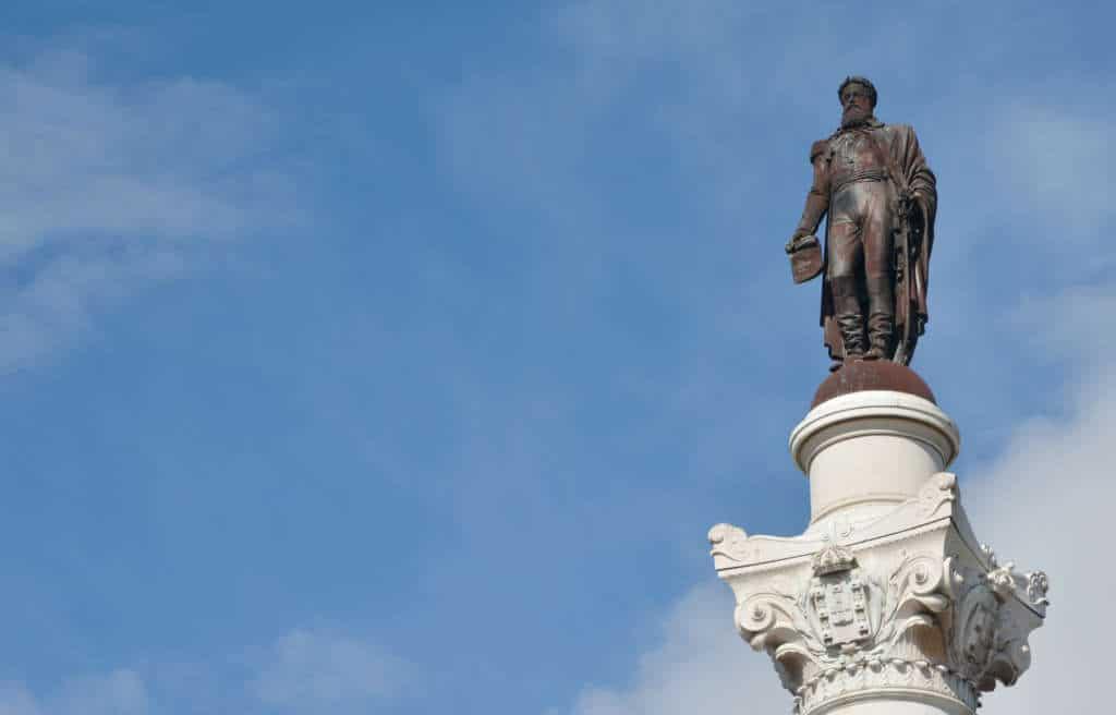pomnik Pedro IV króla Portugalii na placu Rossio
