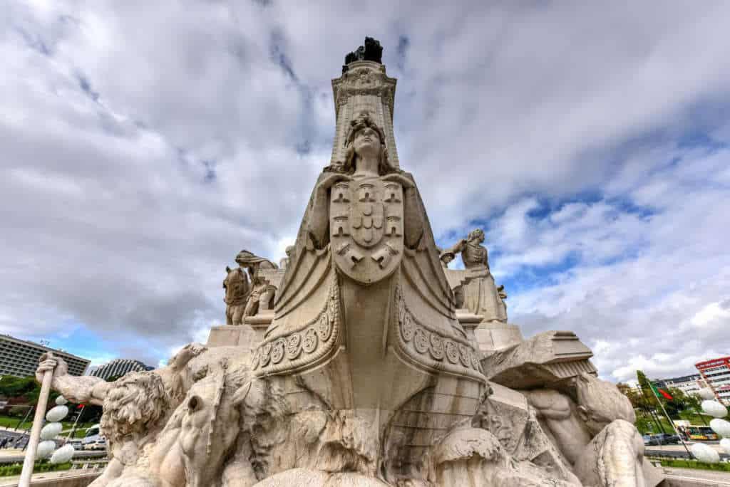 detale pomnika Markiza de Pombal