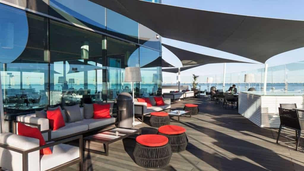 restauracja w wieży Vasco da Gama
