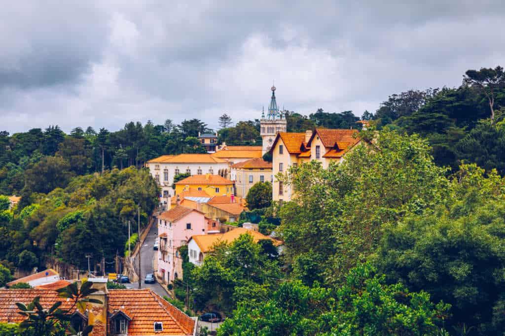 Widok na Sintrę